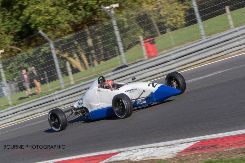 Neil Maclennan - Kevin Mills Racing - Spectrum - 2018 Formula Ford Festival - Brands Hatch