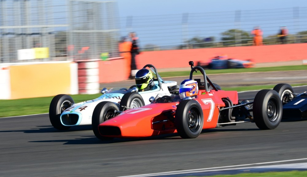 Cameron Jackson / Ben Mitchell - Lola T200 / Jamun T2 - HSCC Historic Formula Ford - Silverstone
